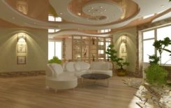 Устройство потолка в частном доме