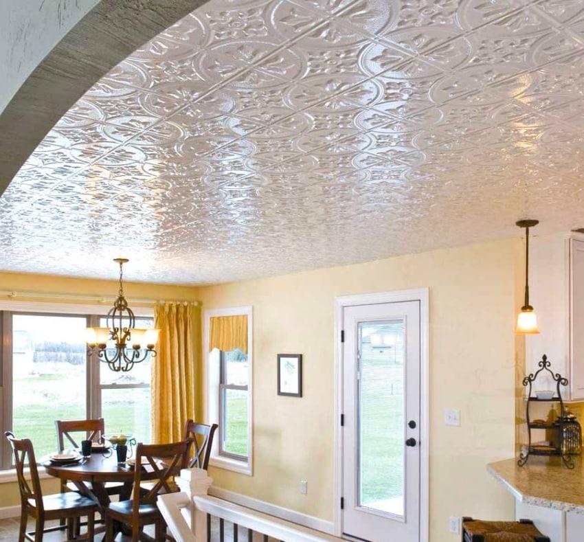 Tile ceiling ideas