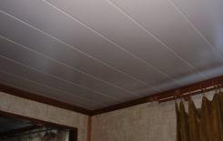 Способы монтажа панелей МДФ на потолке