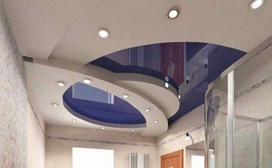 Многоуровневые конструкции потолка