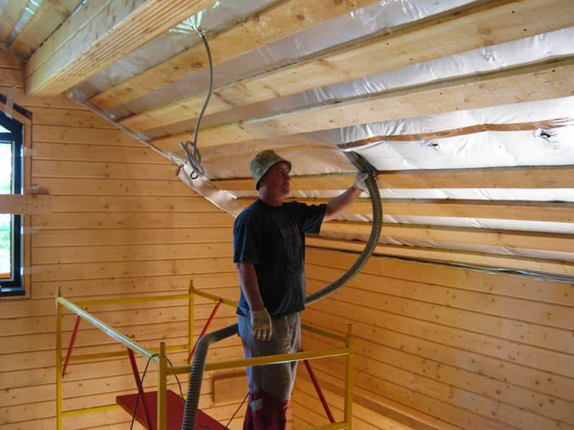 Как сделать потолок в доме своими руками пошаговое руководство
