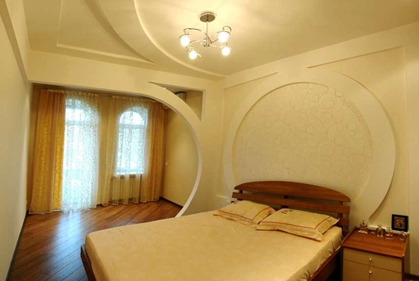 Потолки из гипсокартона своими руками для спальни фото