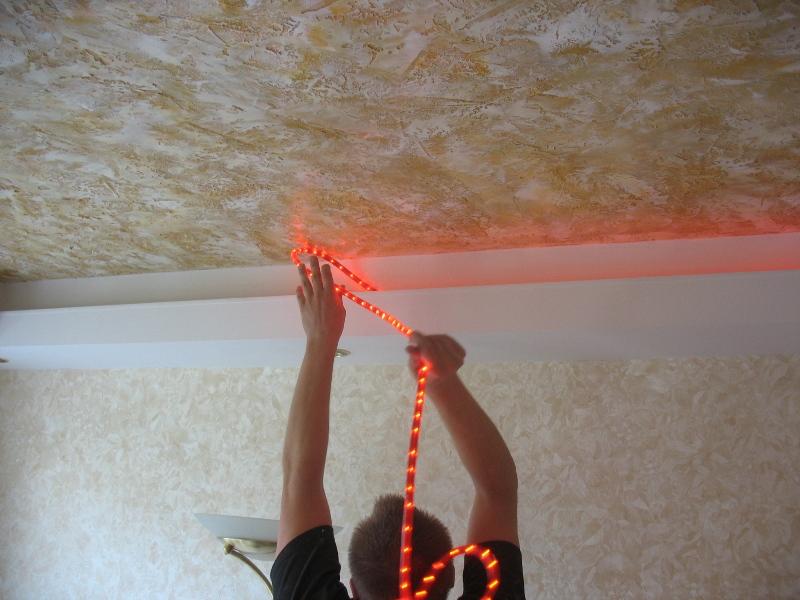 Как сделать навесные потолки своими руками из пластика