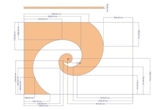 План многоуровнего потолка