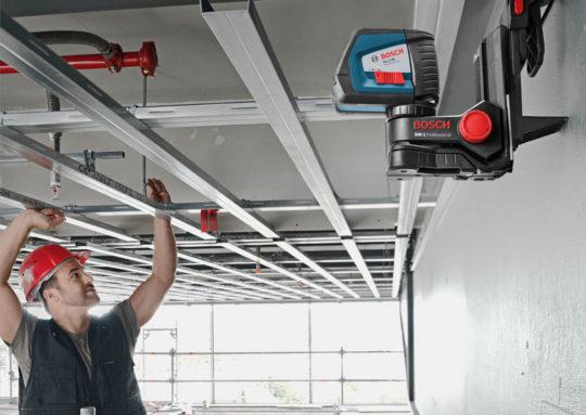 Монтаж каркаса для потолка из гипсокартона