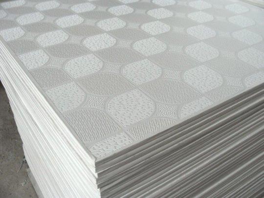 Плитка для оклеивания потолка