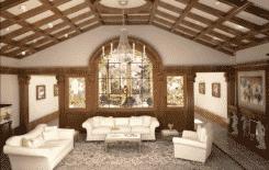 Чем подшить деревянный потолок в частном доме