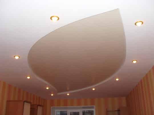 Дизайн подсветки потолка